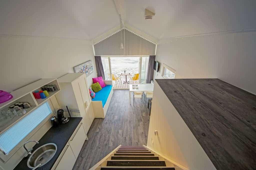 Interieur huisje aan zee Katwijk