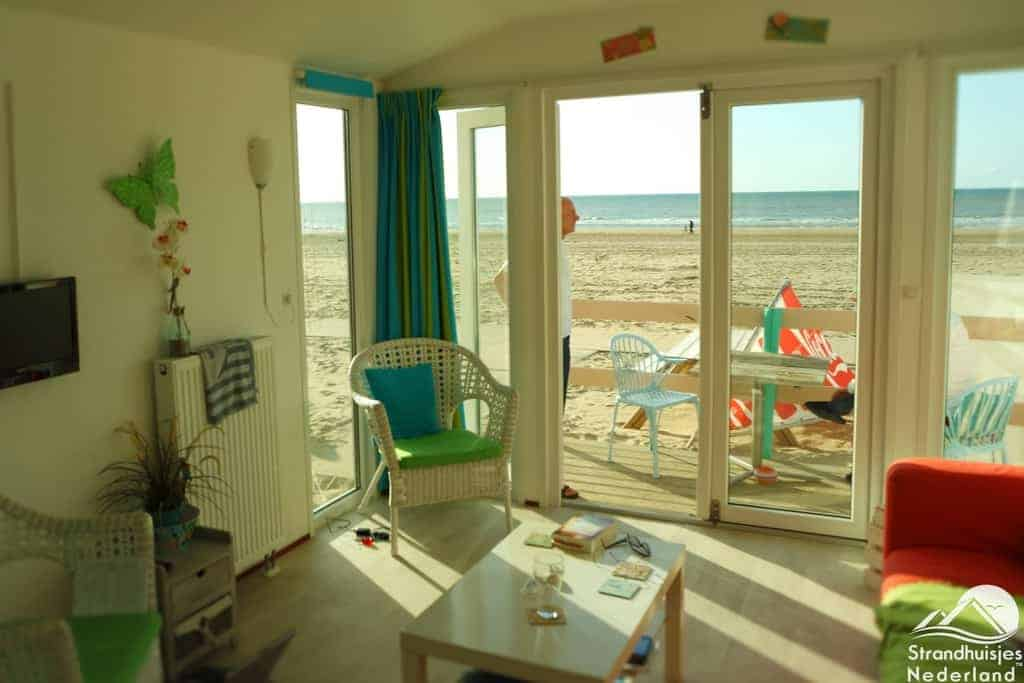 Interieur strandhuisje Key West