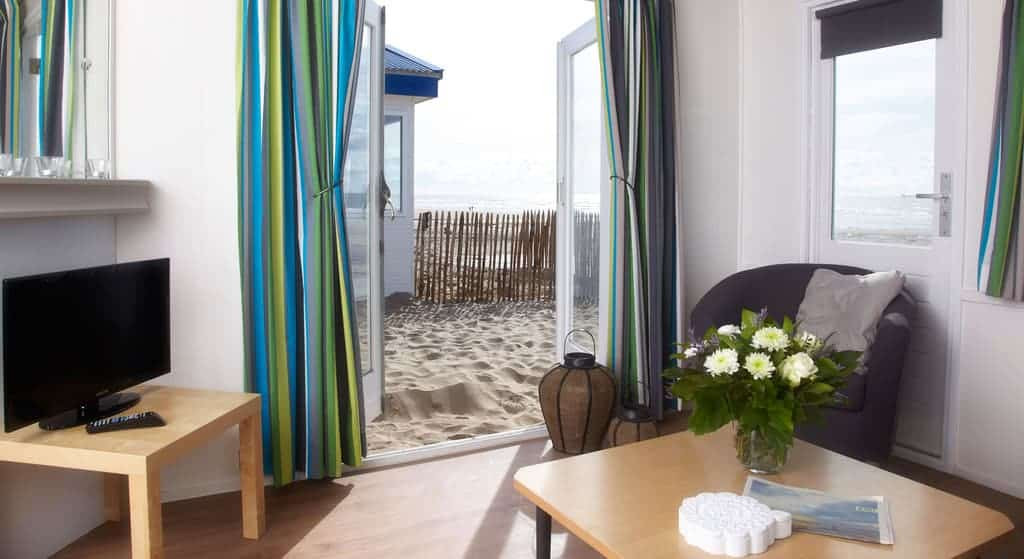 Interieur strandhuisje Willy Noord