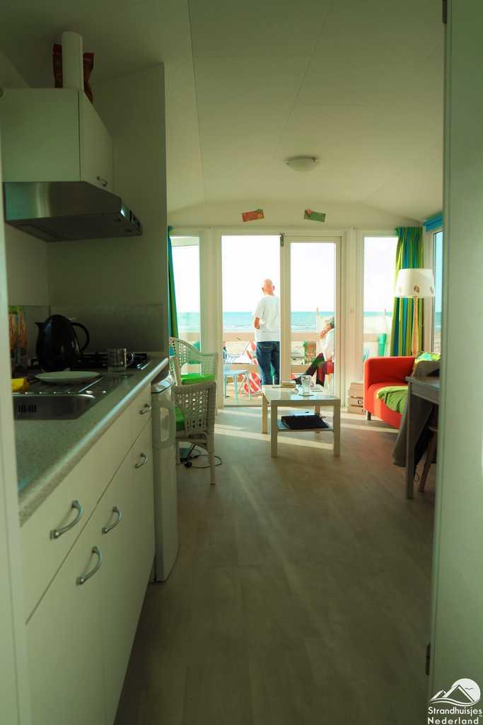 Keuken met zicht op zee