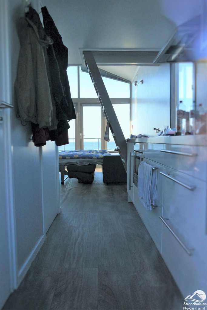 Keuken strandhuisje Slaapzand Zeeland