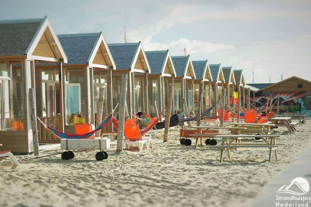Strandhuisjes Katwijk - Paal 14