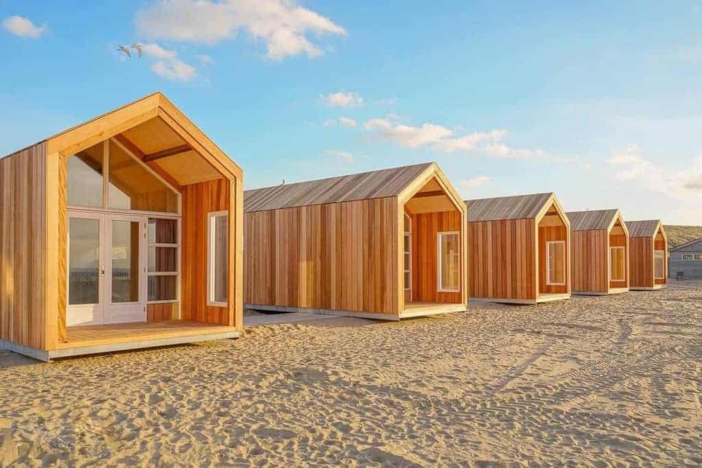 foto 39 s strandhuisjes strandhuisjes. Black Bedroom Furniture Sets. Home Design Ideas