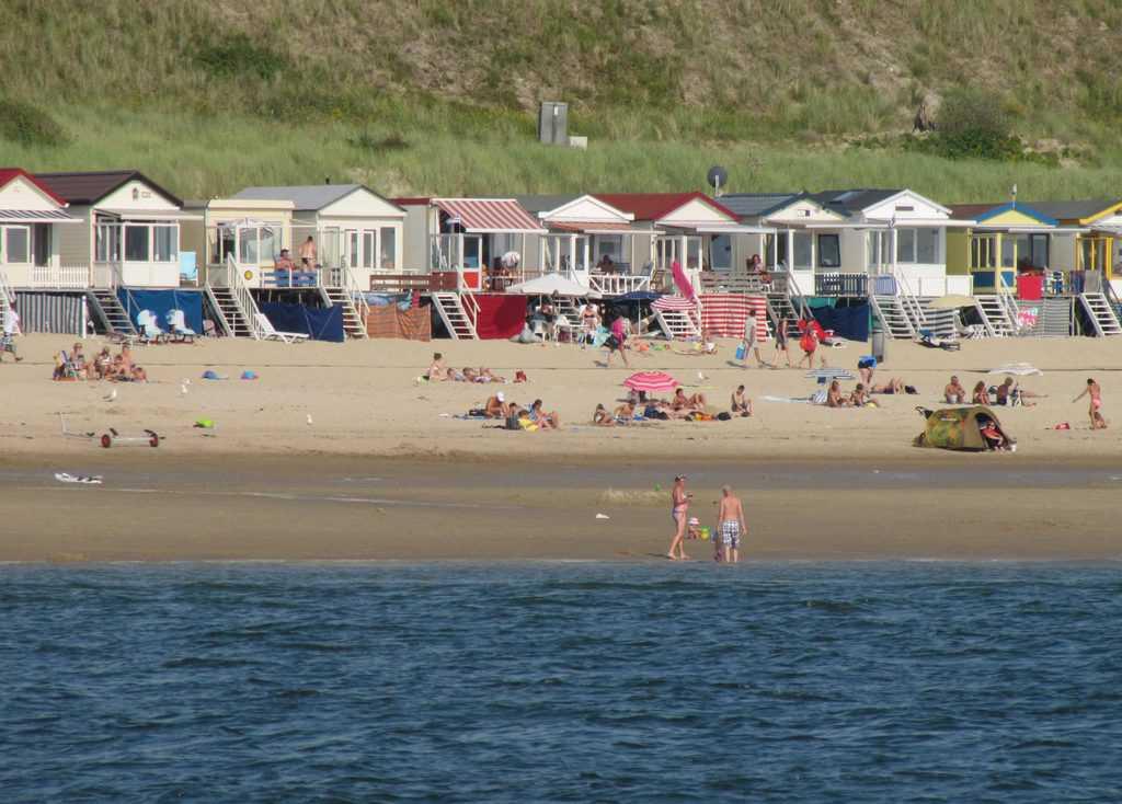 Strandhuisjes Westduin