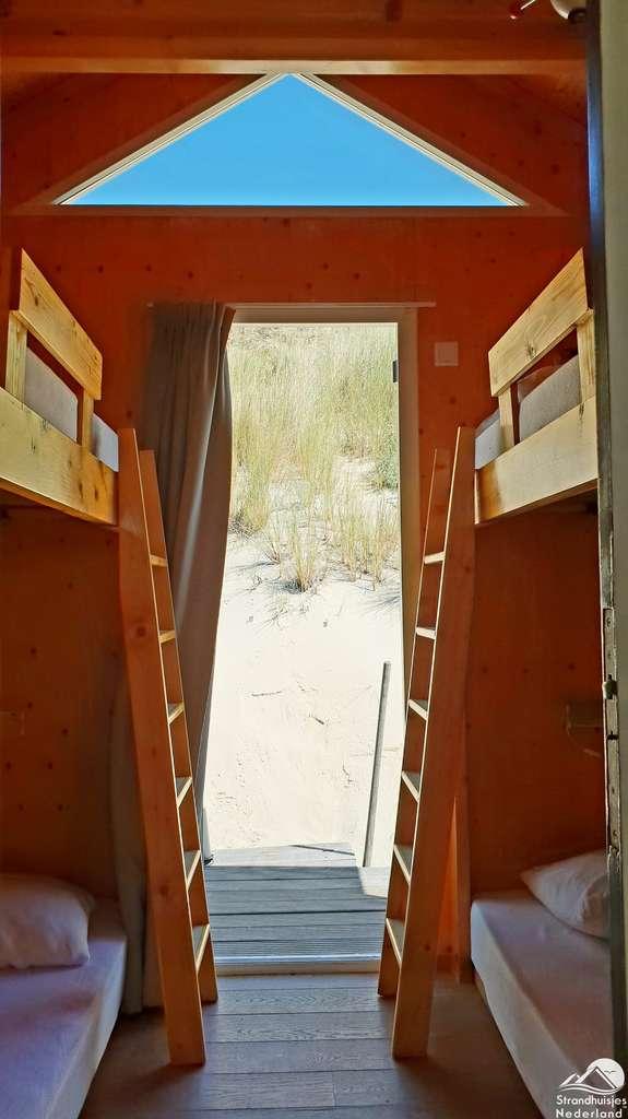 Slaapkamer Strandhuisje Westduin 120 (27)