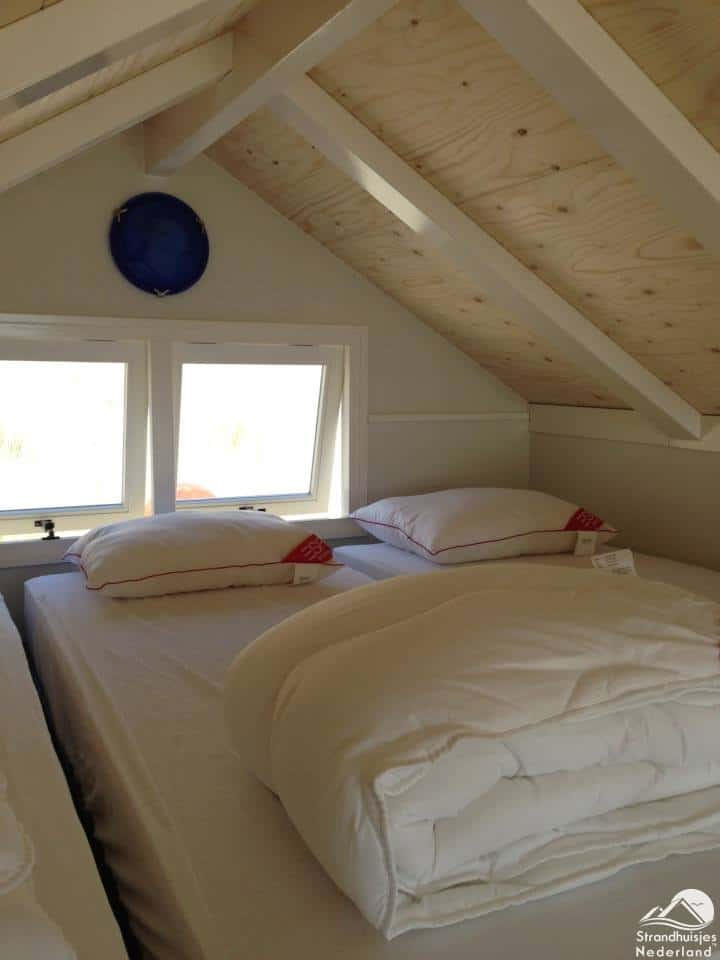 Slaapruimte boven