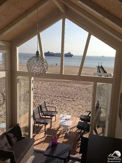 Zicht op zee - Strandhuisje Westduin 35