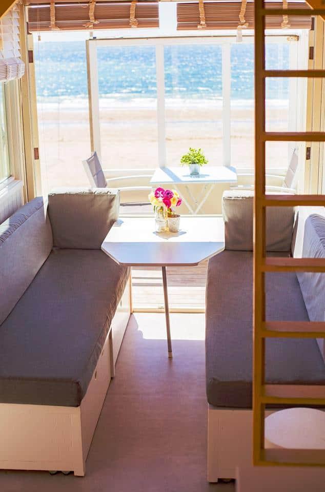Strandhuisje Dishoek 327 met zicht op zee
