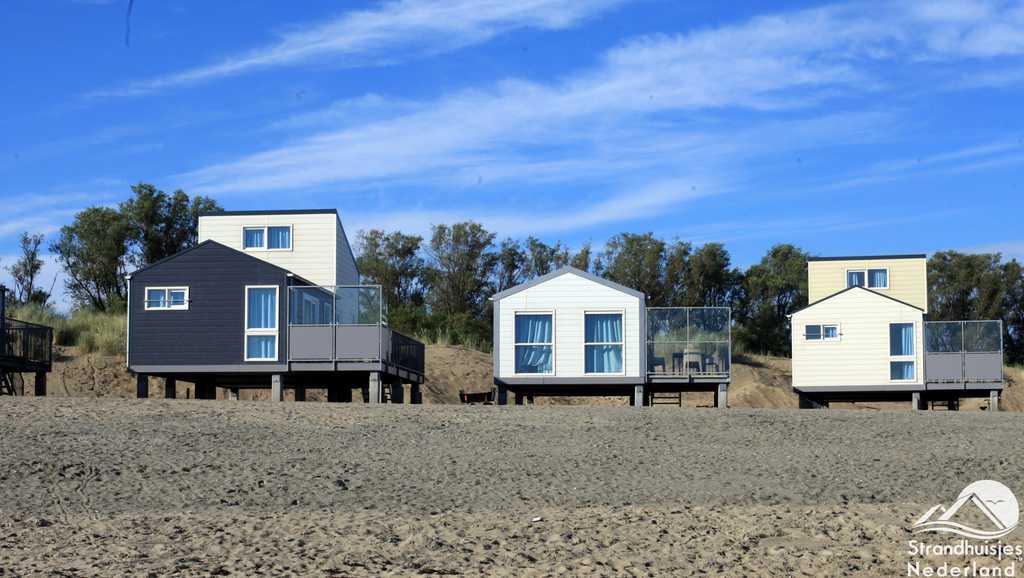 Strandhuisjes Kamperland, Zeeland.