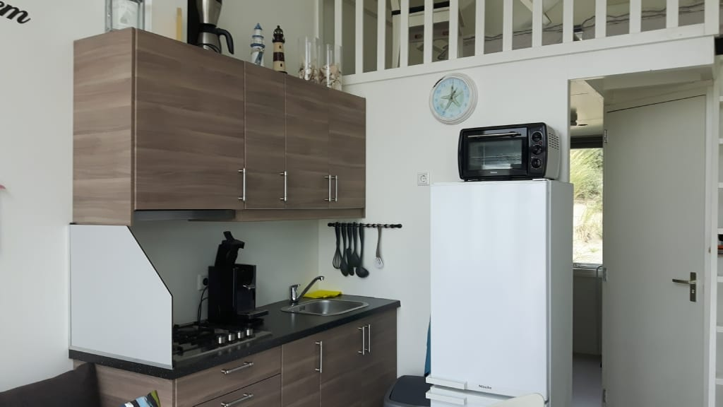 Keuken strandhuisje Westduin 34 Zeeland