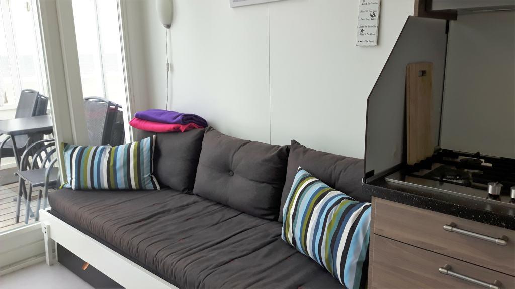 Slaapbank strandhuisje Westduin 34