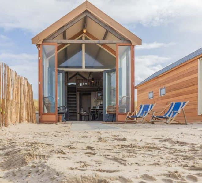 Strandhuisje Zee en Zon Katwijk