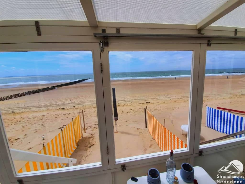 Strandterras en uitzicht