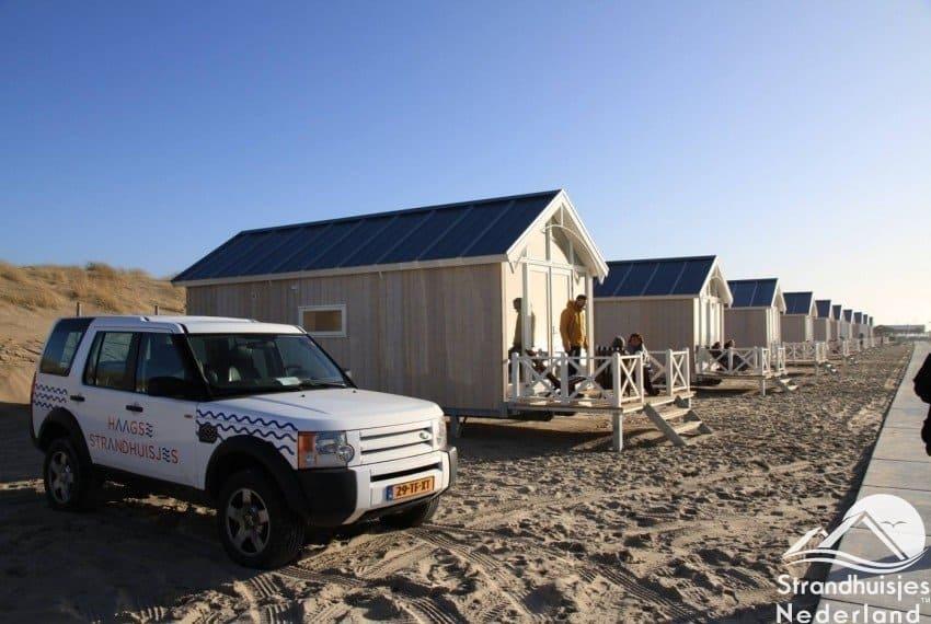 Haagse strandhuisjes test