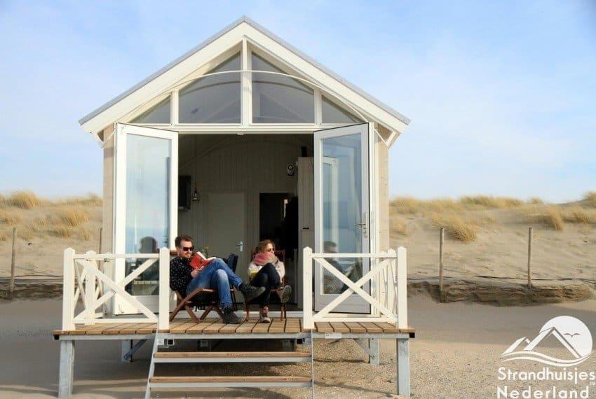 Ontspannen bij de Haagse strandhuisjes