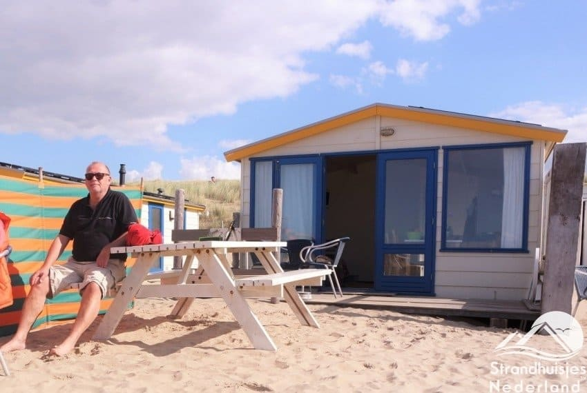 Strandhuisje Katwijk