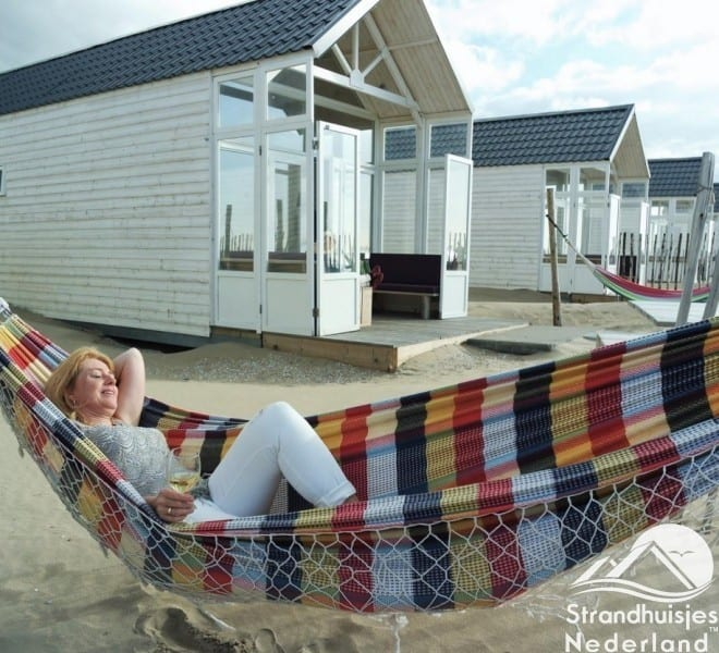 Helemaal relaxed bij strandhuisjes Paal 14
