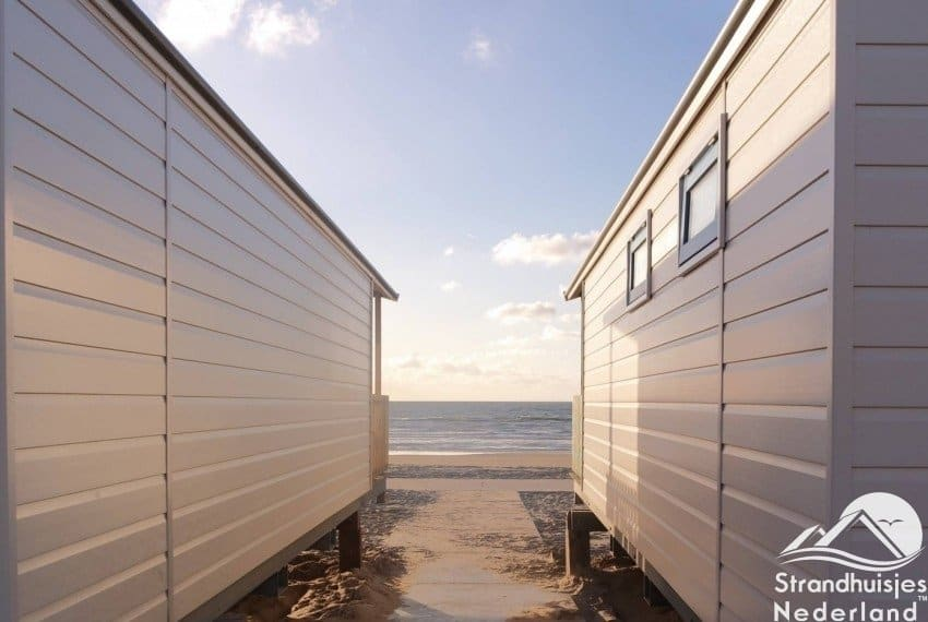 Strandhuisjes Aan Zee Slapen